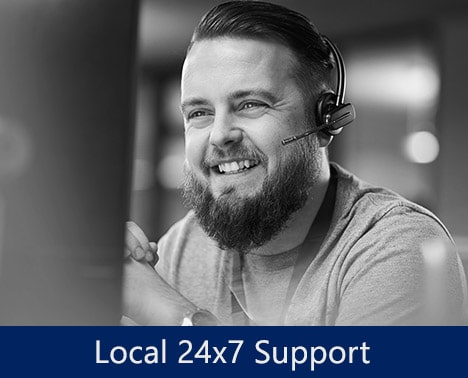 Local 24x7 Support